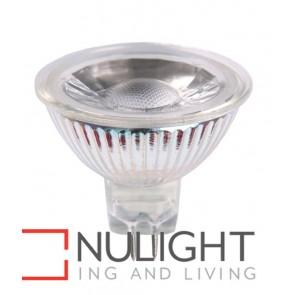 GLOBE LED 12V AC/DC Clear Rim MR16 5W 5000K 45D400 Lumens CLA
