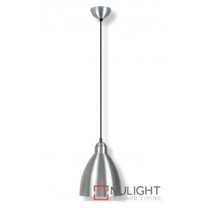 Metal Pendant 200Mm Satin Chrome ASU