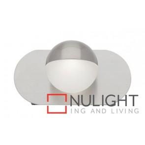 Lexi 1 Light Led Wall Light Brushed Chrome MEC