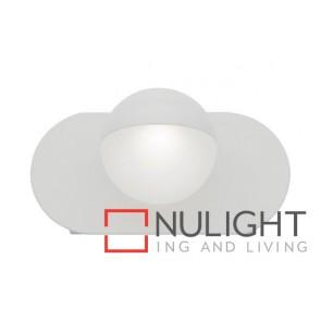 Lexi 1 Light Led Wall Light White MEC
