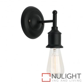 Leona Wall Light Black MEC
