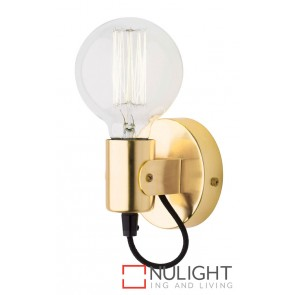 Bronte Wall Light Antique Brass MEC