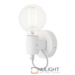 Bronte Wall Light White MEC