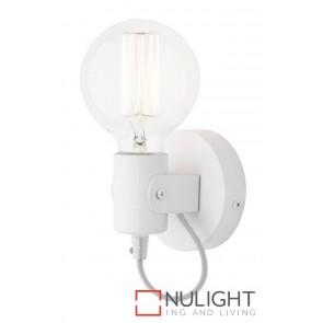 Bronte Wall Light White MEC