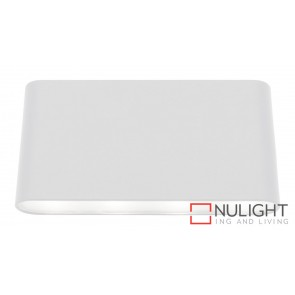 Sasha LED Up-Down Wall Light White MEC