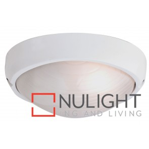 Fiore 1 Light Oval Bunker White MEC