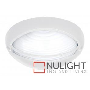 Fiore 1 Light Oval Eyelid Bunker White MEC