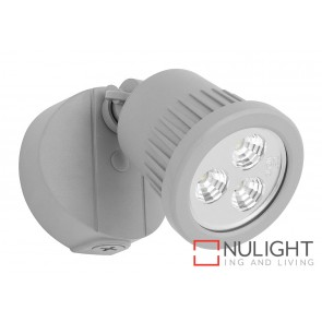 Ritz 1 Light LED Exterior Floodlight Silver MEC