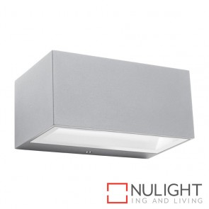 Cluny 6W LED wall Exterior Silver MEC