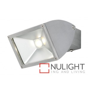 Zone2 LED 11W Exterior Floodlight Brushed Chrome MEC