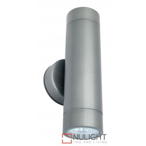Albany LED Up and Down Exterior Wall Light Titanium MEC