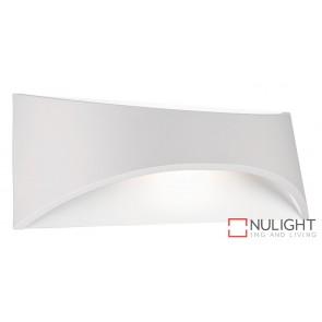 Wells 6W Led Wall Light White MEC