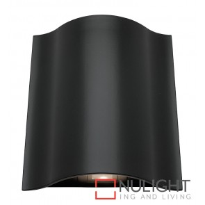 Arch LED Up-Down Wall Light Black MEC