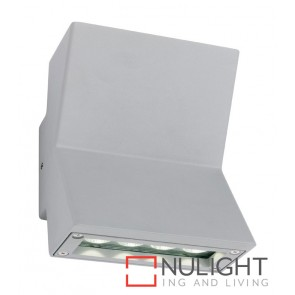 Rocco LED Up-Down Wall Light Silver MEC