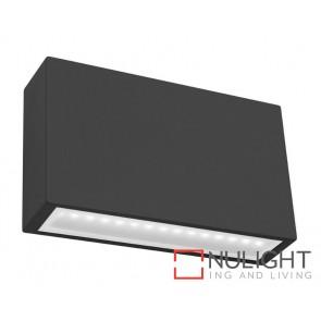 Sturt LED Exterior Wall Light Black MEC