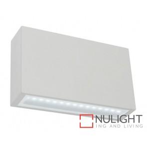Sturt LED Exterior Wall Light Silver MEC