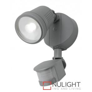Otto 12W LED Floodlight with Sensor Silver MEC