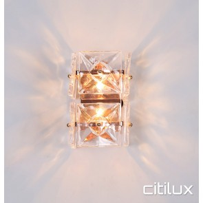 Niko 2 Light Wall Light Gold Citilux
