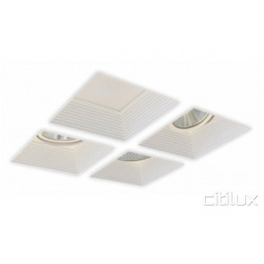Vivatec Three Square Frame LED Downlights