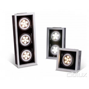 Kelnex 21W LED Downlights Square Frame Triple
