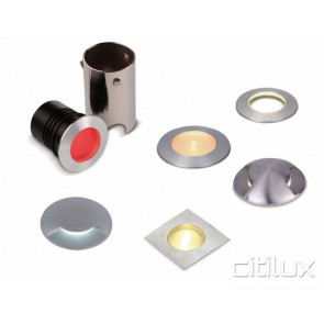 Chromic Square Stainless Steel Inground Light
