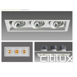 Effex 3 Lights LED Recessed Downlights