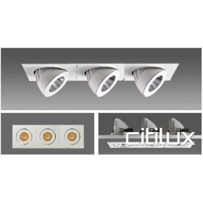 Firelux 3 Lights LED Recessed Downlights
