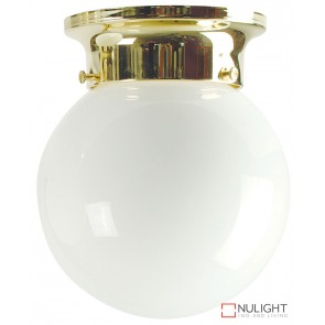 15Cm Jetball Batten Fix Opal - Brass ORI