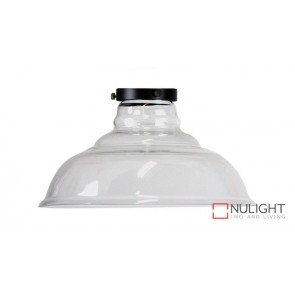 Toledo Clear Glass Shade With Gallery ORI