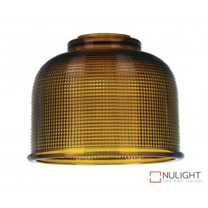 Maison.15 Amber Halophane Glass Shade ORI