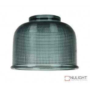 Maison.15 Blue Halophane Glass Shade ORI