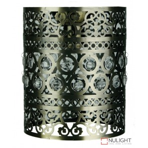Ramsey Diy Shade Antique Brass With Beads ORI