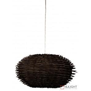 Butan 50 Rattan Pendant Shade Choc Brown ORI
