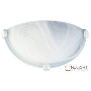 Remo 30Cm Uplighter Alabaster- White ORI
