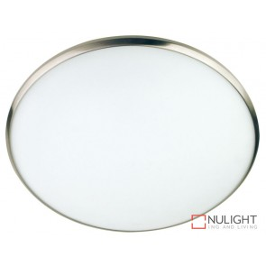 Luma 40Cm Oyster Satin Chrome Trim ORI
