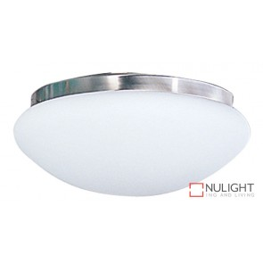 Fan Light Br. Chrome - Satin Opal 230Mm ORI