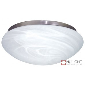 Fan Light Satin Chrome - Alabaster 230Mm ORI