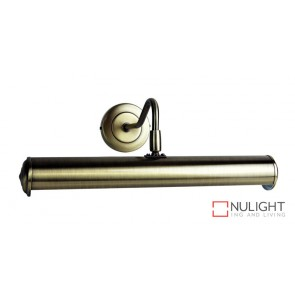 Picture Light 350Mm Antique Brass ORI
