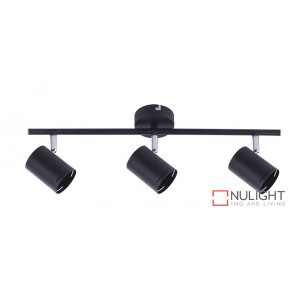 Baril 3 Light Gu10 Spot Matt Black ORI
