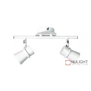 Yarra 2 Light Led Ready Spotlight White ORI