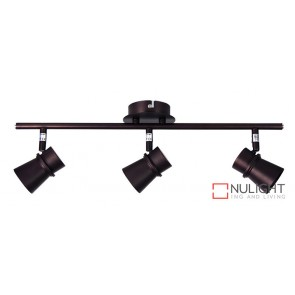Yarra 3 Light Led Ready Spotlight Bronze ORI