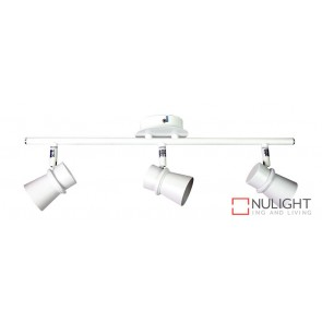 Yarra 3 Light Led Ready Spotlight White ORI