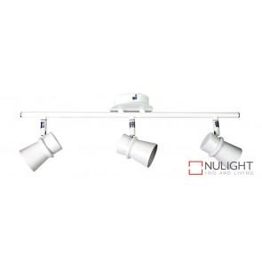Yarra 3 Light Led Ready Spotlight White ORI