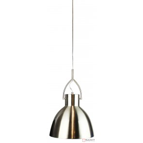 Perno.30 Brushed Chrome Single Pendant ORI