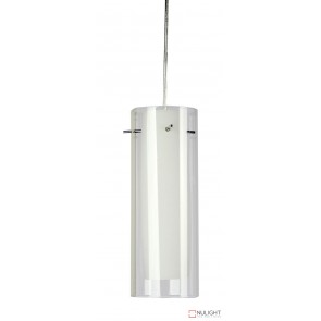 Astrid Mini E14 Pendant Opal With Clear Outer ORI