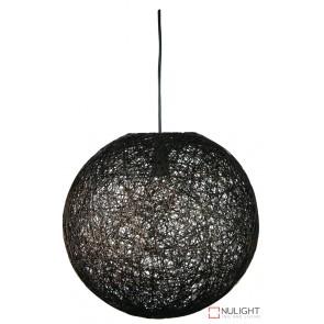 Kono 60 Abaca Pendant Dark Brown ORI