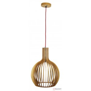 Sven 450 Single Pendant Natural With Red Cord ORI