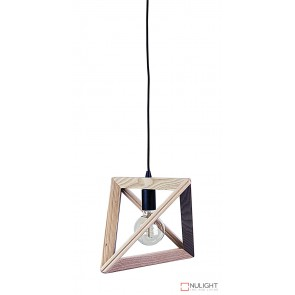Trap Ii Triangle Pendant Black Suspension ORI