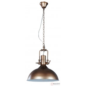 Cottage Single Pendant Brown ORI
