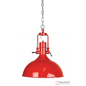 Cottage Single Pendant Red ORI